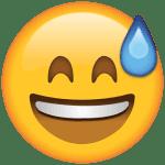 Emoji Chorando de Rir PNG