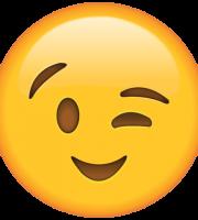 Emoji Piscadela
