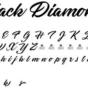 Fonte Black Diamonds para Baixar Grátis