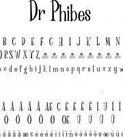 Fonte Dr Phibes para Baixar Grátis