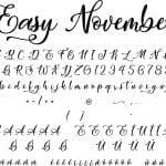 Fonte Easy November para Baixar Grátis