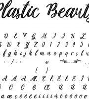 Fonte Plastic Beauty para Baixar Grátis