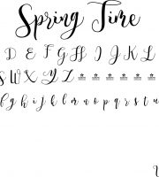 Fonte Spring Time para Baixar Grátis