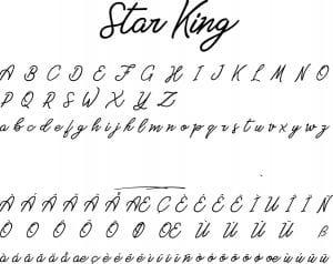 Fonte Star King para Baixar Grátis