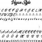 Fonte Vegan Style para Baixar Grátis