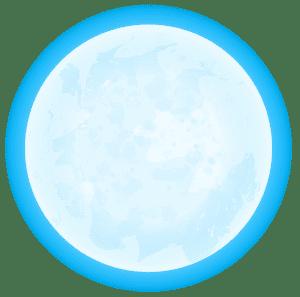 Imagem Lua - Lua Azul