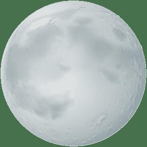 Imagem Lua - Lua Realista 2
