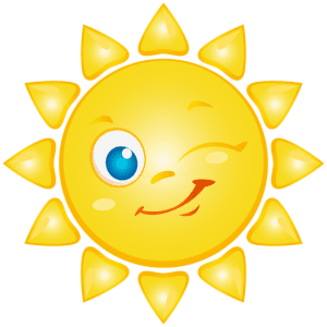 Imagem Sol - Sol Brilhando Feliz 2