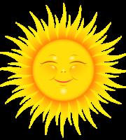 Imagem Sol - Sol Brilhando Feliz