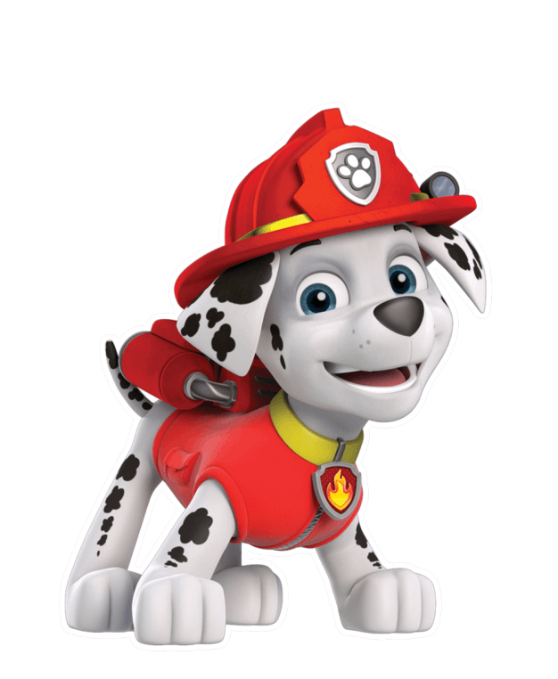 patrulha canina marshall 4 png imagens e moldes com br free dog paw print clip art images Puppy Paw Clip Art Free
