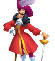 Peter Pan - Capitão Gancho 3