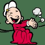 Popeye – Bebê Gugu PNG