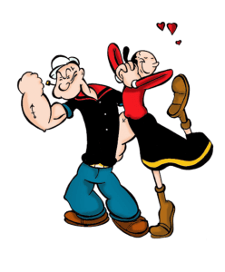 Popeye - Popeye e Olivia Palito 3