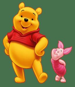 Ursinho Pooh - Ursinho Pooh e Leitão