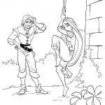 Desenhos para colorir da Rapunzel