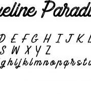Fonte Blueline Paradise para Baixar Grátis