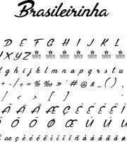 Fonte Brasileirinha para Baixar Grátis
