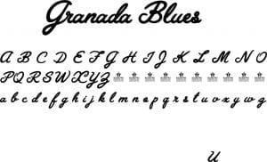 Fonte Granada Blues para Baixar Grátis