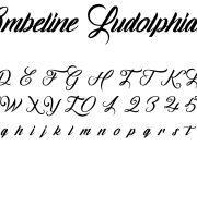 Fonte Ombeline Ludolphides para Baixar Grátis