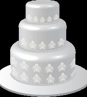 Imagem de Bolos - Bolo Decorado Casamento PNG