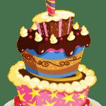 Imagem de Bolos – Bolo de Aniversário 15 PNG