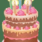 Imagem de Bolos – Bolo de Aniversário 3 PNG