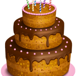 Imagem de Bolos – Bolo de Aniversário 5 PNG