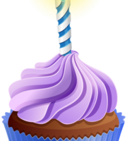 Imagem de Bolos - Cupcake de Aniversário 5 PNG