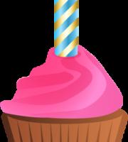 Imagem de Bolos - Cupcake de Aniversário PNG