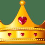 Imagem de Coroas – Coroa Dourada com Pedra Vermelha