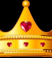 Imagem de Coroas - Coroa Dourada com Pedra Vermelha
