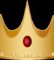 Imagem de Coroas - Coroa Dourada com Pedra Vermelha 2