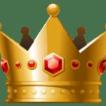 Imagem de Coroas – Coroa Dourada com Pedra Vermelha 3