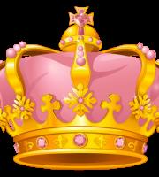 Imagem de Coroas - Coroa Rosa e Dourada