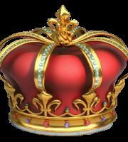 Imagem de Coroas - Coroa Vermelha e Dourada 4
