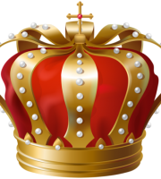 Imagem de Coroas - Coroa Vermelha e Dourada 5