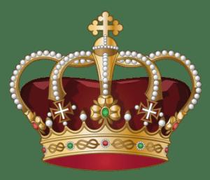 Imagem de Coroas - Coroa Vermelha e Dourada 7