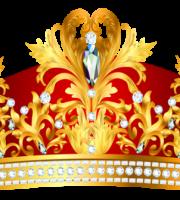 Imagem de Coroas - Coroa Vermelha e Dourada 8