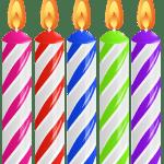 Imagem de Festa – Vela de Aniversário PNG