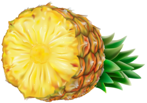 Imagem de Frutas - Abacaxi 4 PNG