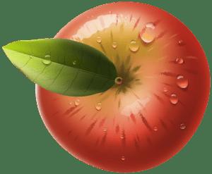 Imagem de Frutas - Maçã 2 PNG