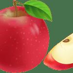 Imagem de Frutas – Maçã 4 PNG