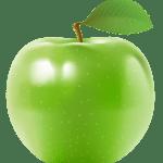 Imagem de Frutas – Maçã Verde 3 PNG