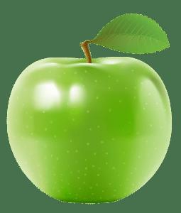 Imagem de Frutas - Maçã Verde 3 PNG