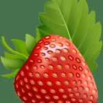 Imagem de Frutas – Morango 4 PNG