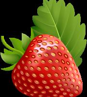 Imagem de Frutas - Morango 4 PNG