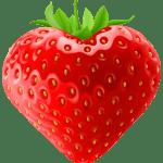 Imagem de Frutas – Morango 7 PNG