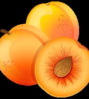 Imagem de Frutas - Pêssego 3 PNG