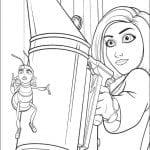 Desenhos para colorir Bee Movie – A História de uma Abelha