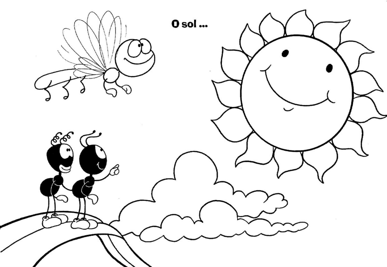 Desenhos Para Pintar: Desenhos Infantil Para Colorir Dos Smilinguido